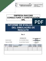 4.10 Informe de Simulacro.
