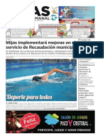 Mijas Semanal  nº820 Del 28 de diciembre al 3 de enero de 2019
