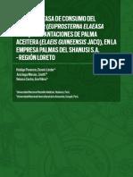 Biologia y Tasa de Consumo de Euprosterna Elaesaea en Palma