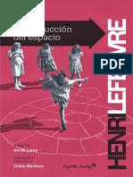 Henri Lefebvre La producción del espacio.pdf