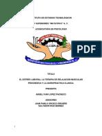 Instituto de Estudios Tecnologicos Titul