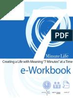 The 7 Minute Life EWorkbook