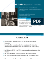 biografia y obras del  Arq Jose  Villagran