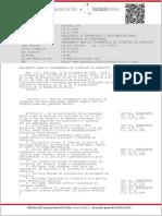 D.S. 170 Otorgamiento de Licencias