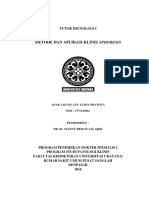 Tutor Metode Dan Aplikasi Klinis Apheresis