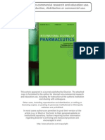 Biochemical and Bio Pharmaceutical Properties of PEGylated Uricase