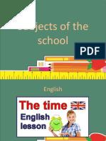 subjectsoftheschool
