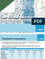 Luwax and Poligen - Application Guide BAFS