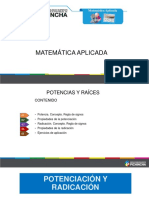 Diapositivas Potencias y Raíces