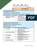 Hhrma Ob Vacancy List April 2015 Part 1 Rank n File