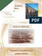 Salitreras- Vida, Urbanismo, Costumbres