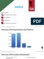 february 2018 analytics report