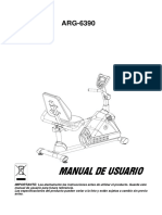 Manual de usuario ARG-6390