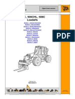 JCB 506 Telescopic Handler Service Repair Manual SN 579569.pdf