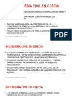 Ingenieria Civil en Grecia y Roma