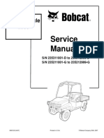 BOBCAT 2200 UTILITY VEHICLE Service Repair Manual SN:235311001-D to 235312999-D.pdf