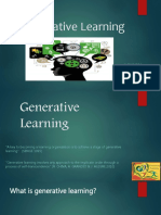Generative Learning
