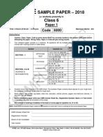 Cls VI QN paper