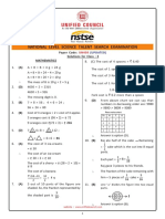 Class_03_NSTSE_Solution_Paper_439_2018