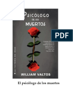 Valtos William M - El Psicologo de Los Muertos