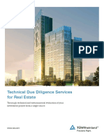 Technical Due Diligence-Real Estate-TUeV Rheinland