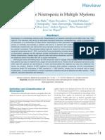 2012PalumboClinLymph Neutropeni Ved Mm-behandling