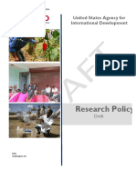 USAID Research Policy Draft 2-14