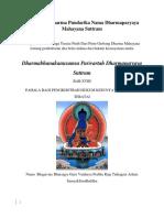 Arya SriSaddharma Pundarika Nama Dharmaparyaya Mahayana Suttra2