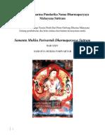 Arya SriSaddharma Pundarika Nama Dharmaparyaya Mahayana Suttra6