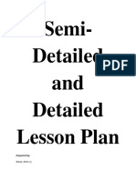 Semi and detailed lesson plan cj.docx