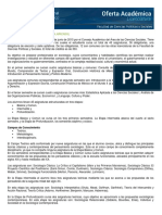 Plan de estudios Sociología UNAM