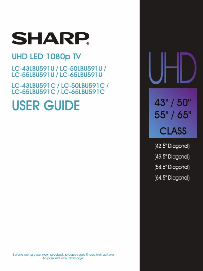 ReplacementScrews Stand Screws for Sharp LC-43LBU591U