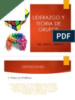 08. Liderazgo y Teoria de Grupos