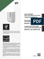 Kc860u Air Purifier SHARP