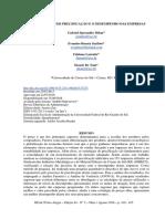 As Estratégias de Precificação e o Desempenho Das Empresas