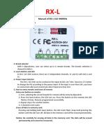 Manual of RX-L 315-390