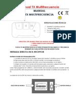 DS002 TX Multifrecuencia
