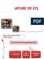 1. the Nature of Eyl_for Students