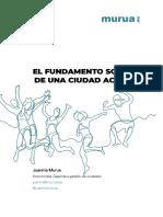 El Fundamento Social de Una Ciudad Activa