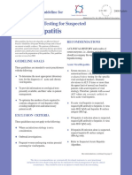 Hepatitis Guideline