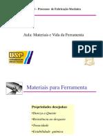 Aula 04 Materiais Ferramentas SEM-0534 2017