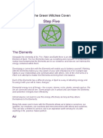 The Green Witches Coven Lesson 05 of 13.doc