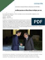 """21D_ El Gobierno y La Generalitat Pactan en Barcelona Trabajar Por Un """"Diálogo Efectivo"""" _ Cataluña _ EL PAÍS"""
