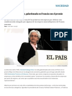 Soledad Gallego-Díaz, Galardonada en Francia Con El Premio Mujer de Influencia _ Sociedad _ EL PAÍS