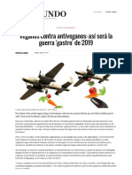 Veganos Contra Antiveganos_ Así Será La Guerra 'Gastro' de 2019 _ Gastro