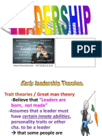 Leadership Theories Handout