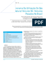 Panorama da Utilização do GNV em Veículos Pesados no Brasil