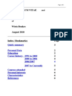 CV WJ Beukes Aug2010