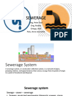 Sewerage (Water Resources Engineering)