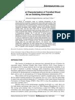 Physicochem Charact Torrified Wood Oxidizing Atmosph